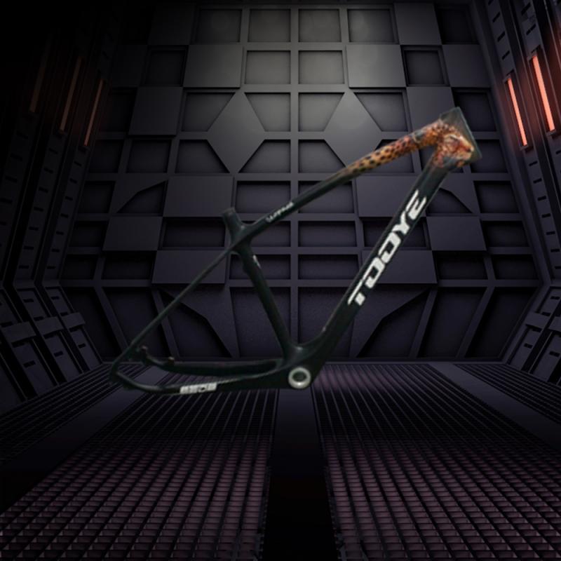 碳纤维制品自行车架-手绘版(订制)